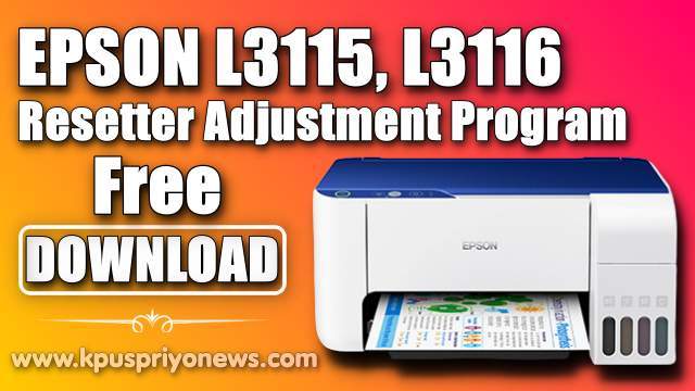 Epson L3116 L3116 Resetter - Featured Image