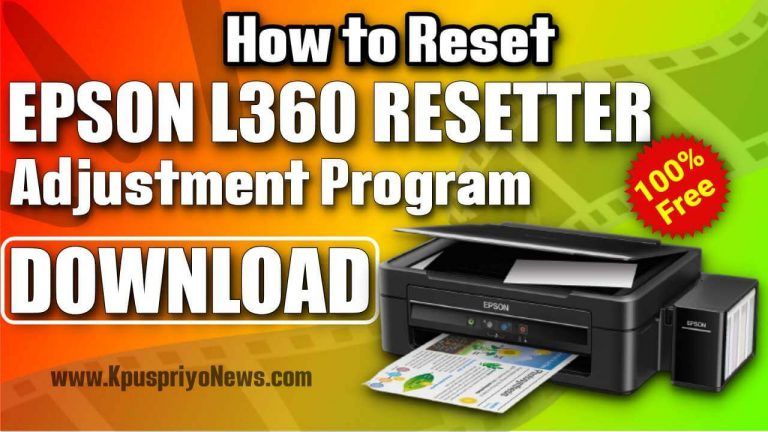 Epson-L360-resetter-Adjustment-Program